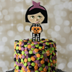 Halloween Confetti Cake