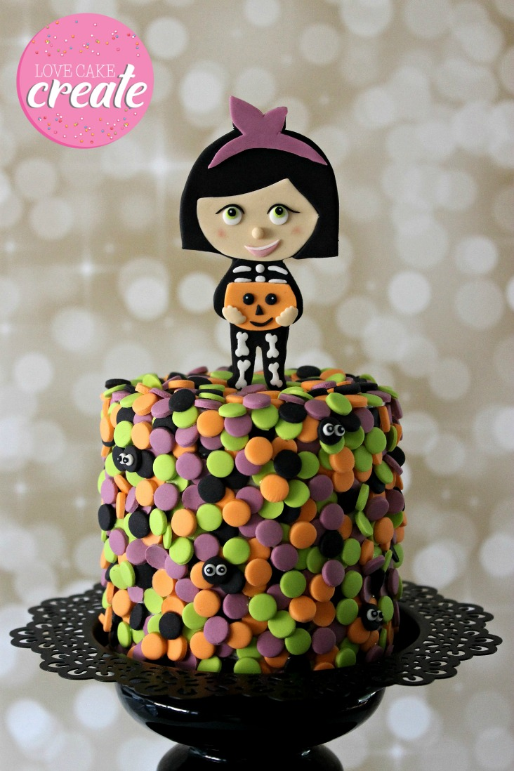 Halloween Confetti Cake - by Love Cake Create