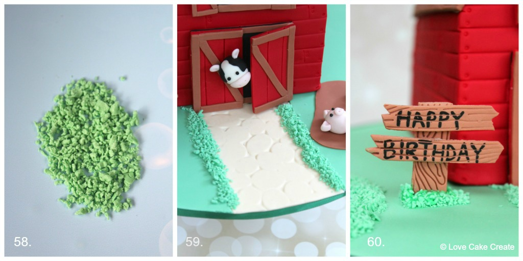 Farmyard Barn Cake Tutorial - Love Cake Create