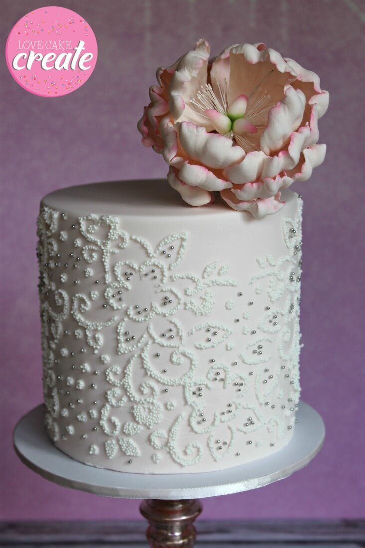 Watermark your cake photo quickly and easily with this tutorial from Love Cake Create