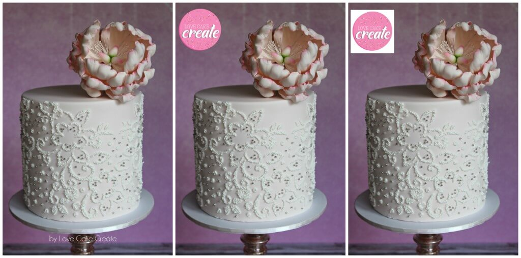 Watermarking your cake photo is quick (and free!) with this tutorial from Love Cake Create