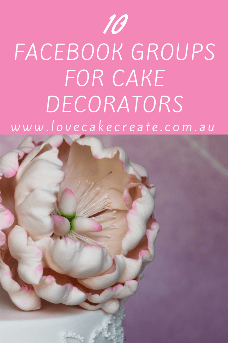 10 Facebook groups for cake decorators - by Love Cake Create