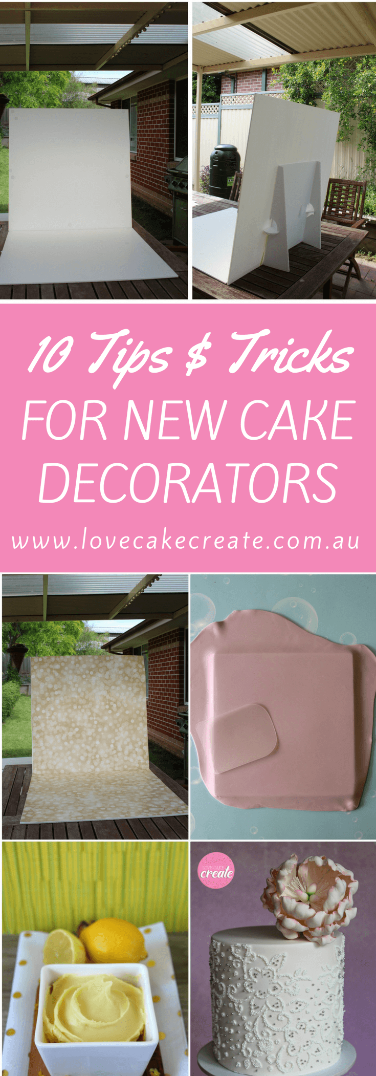 10 tips and tricks for new cake decorators - by Love Cake Create