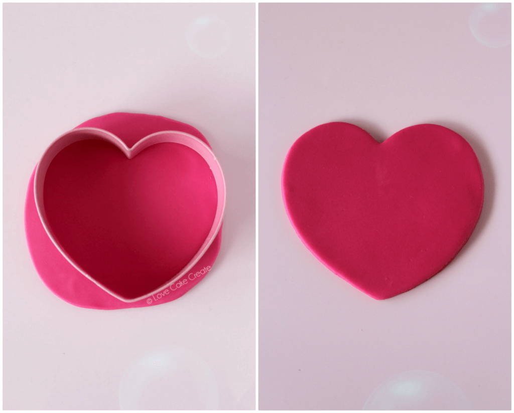 Valentine's Day Ruffle Heart Cake - by Love Cake Create