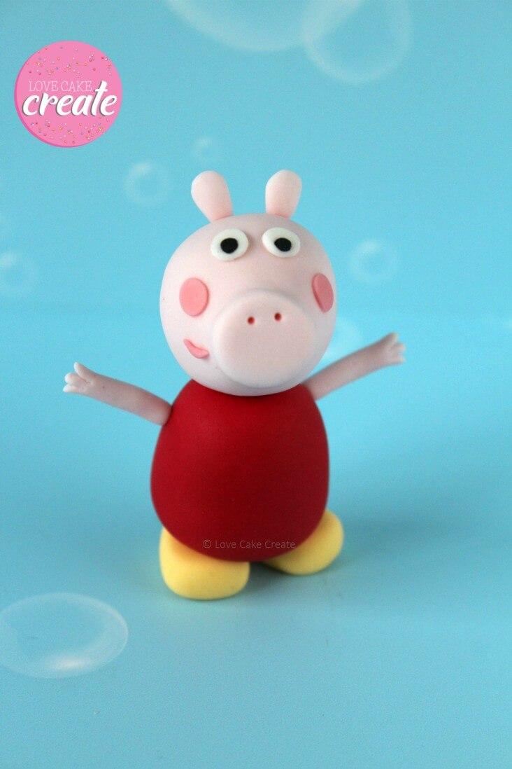 Peppa Pig Cake Decorations Figurines