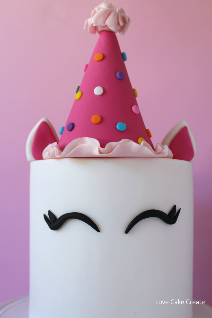 How to make a party unicorn cake - Love Cake Create