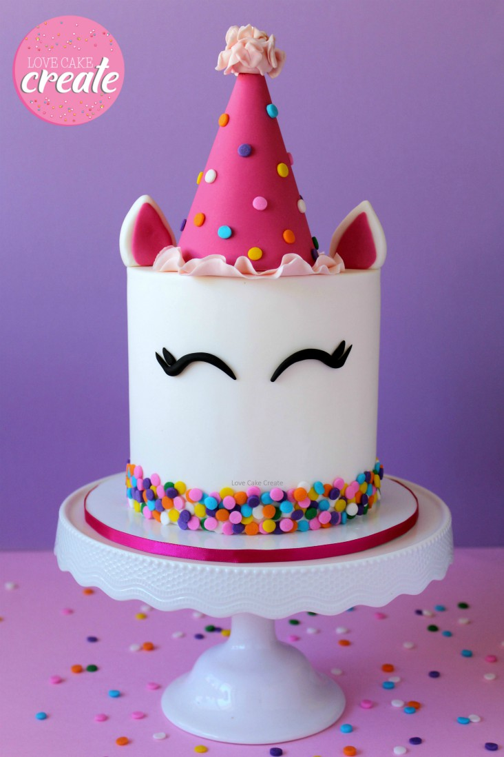 Astounding How To Make A Party Unicorn Cake Love Cake Create Funny Birthday Cards Online Inifofree Goldxyz