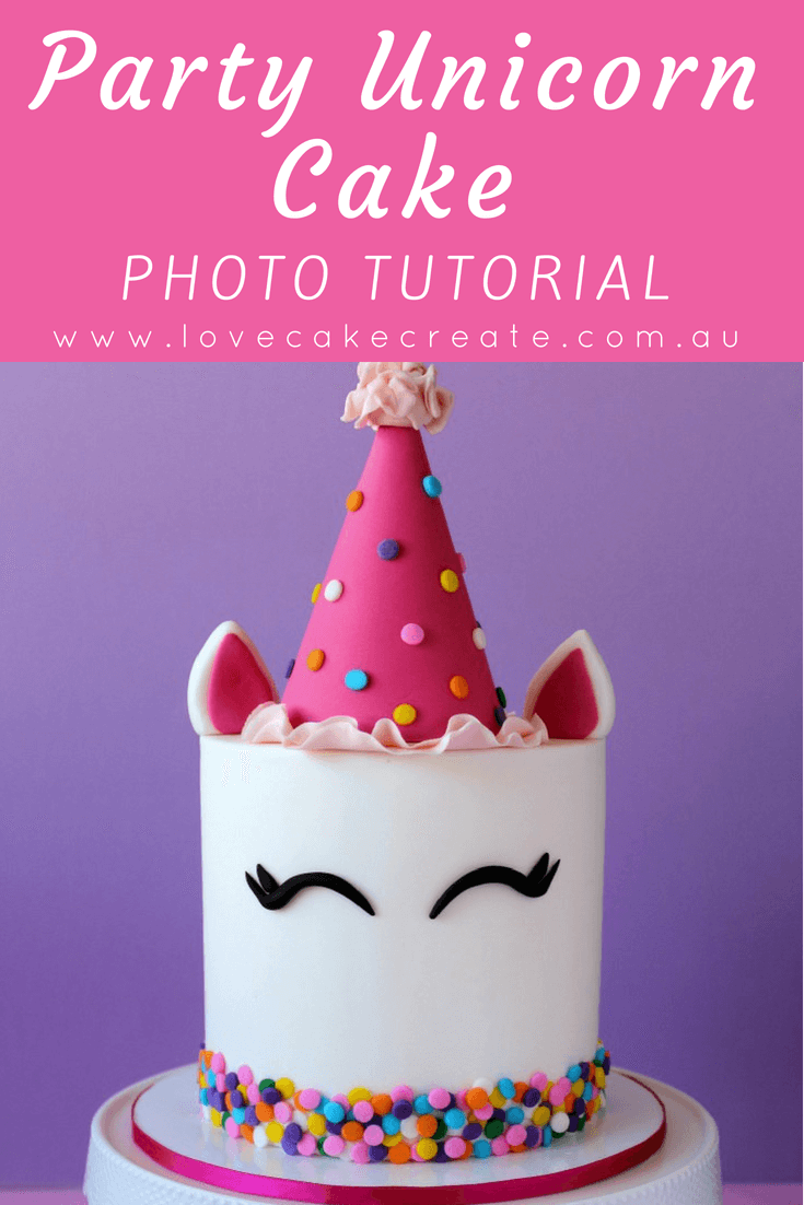 How to Make a Party Unicorn Cake - by Love Cake Create