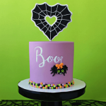 How To Make a Halloween Spider Cake